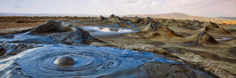 Mud volcanoe